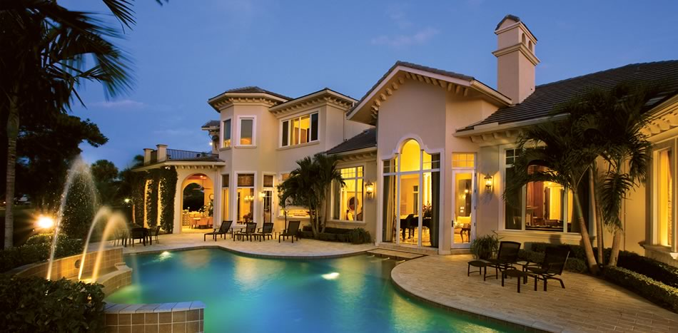 South florida home builders milestone custom homes for Expensive homes in florida